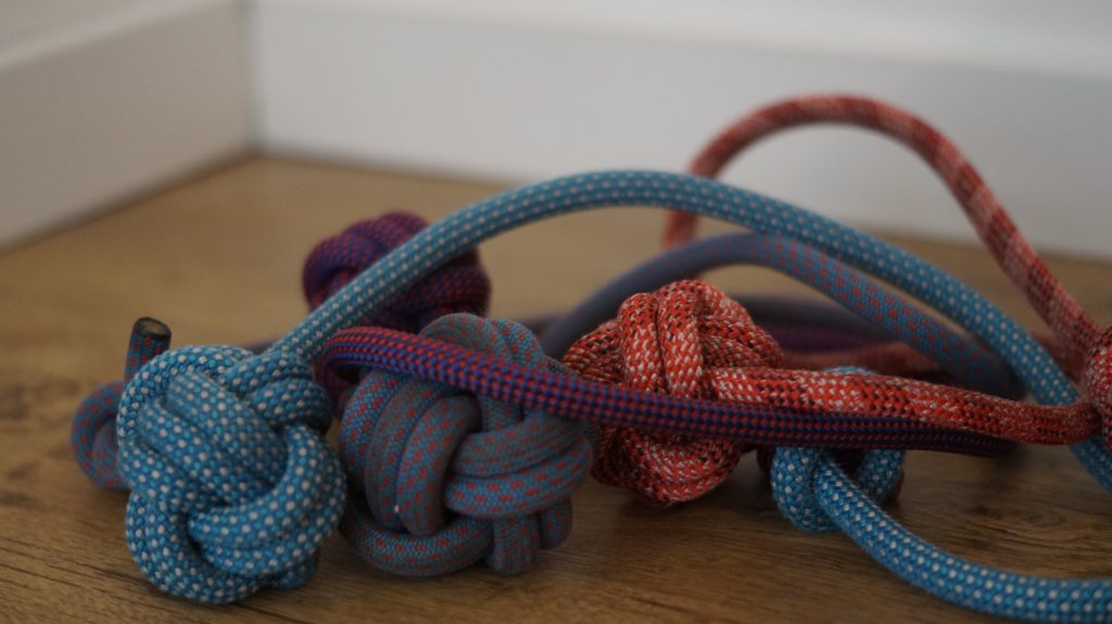 Ropes Upcycled recyceltes Hundespielzeug