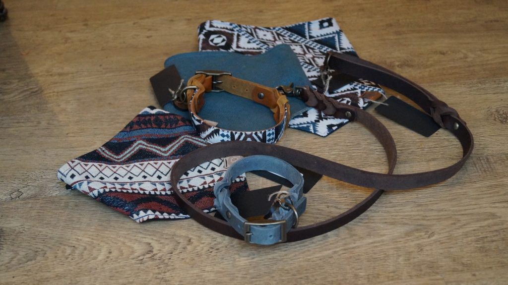 Wolfsgewand Hundeleinen, Halsband und Halstücher